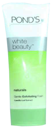 Ponds White Beauty Gentle Exfoliating Facial Foam 100gm